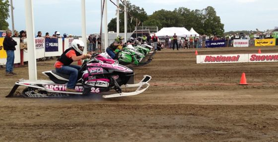 D&D's Dylan Roes led a Team Arctic sweep of the Stock 800 class at Hay Days.