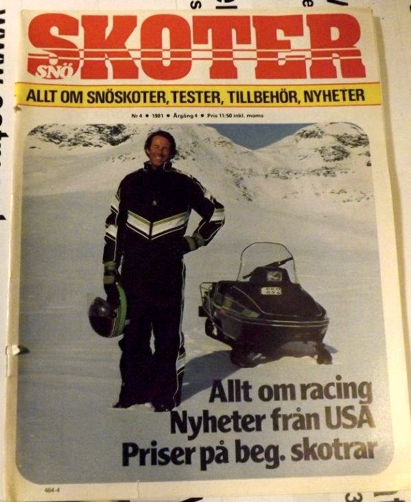 Ingemar Stenmark, one of the greatest skiers and an Arctic Cat snowmobiler.