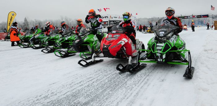 USXC Cross-Country snowmobile racing. Photo by ArcticInsider.com