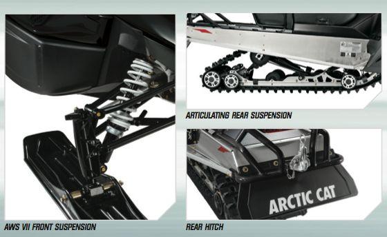 2014 Arctic Cat Bearcat 570 XTE Highlights