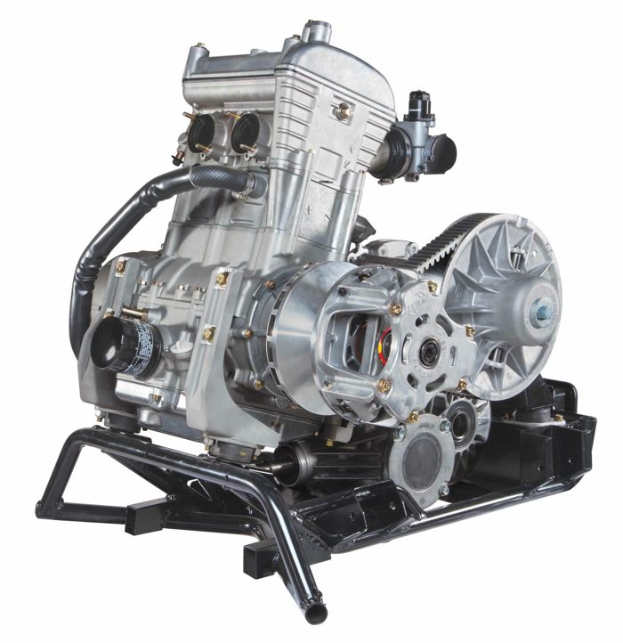 New 700cc twin engine in the Arctic Cat Wildcat Trail
