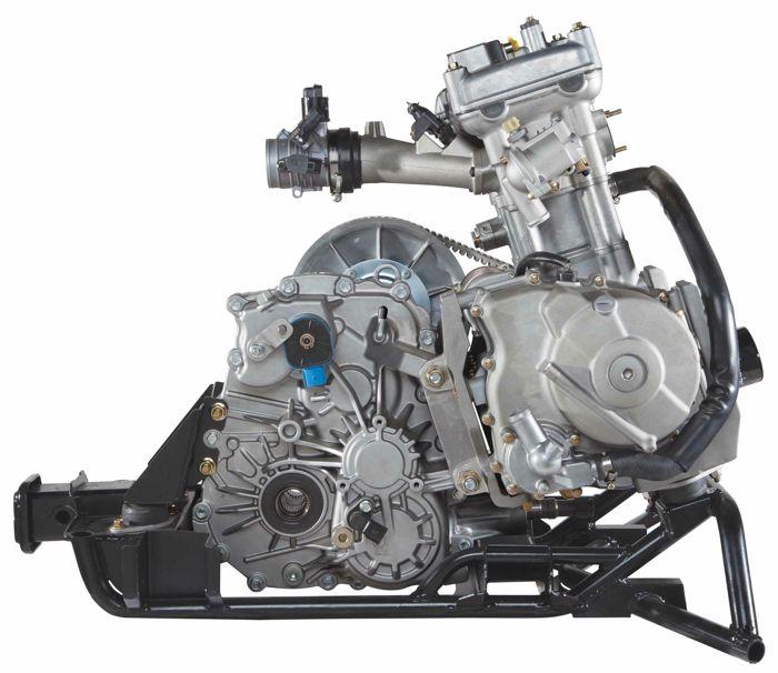Wildcat Trail 700 engine with TEAM transaxle
