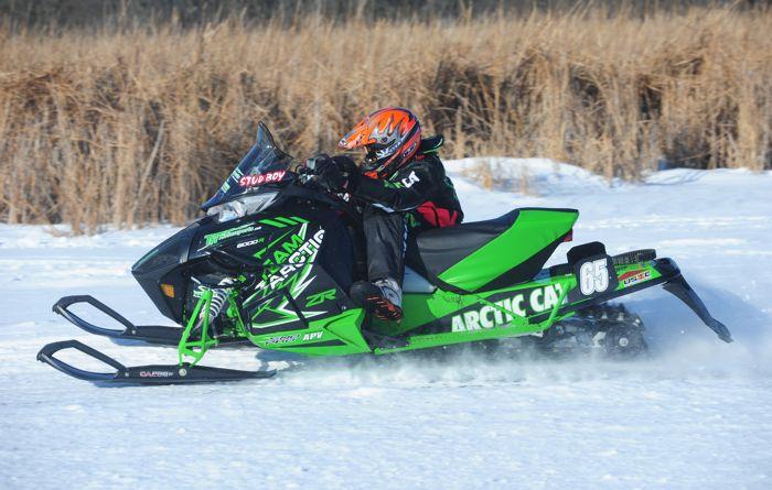 Team Arctic's Casey Pries