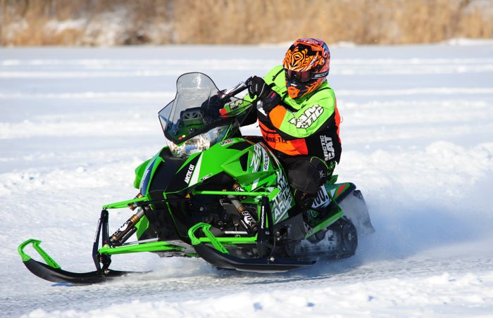 Team Arctic Cat's Jon Koch