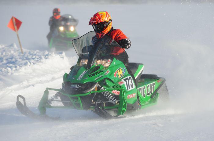 Team Arctic Cat's Paul Brown.