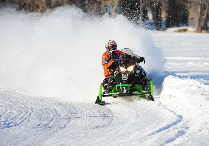 Team Arctic Cat pro Wes Selby. Photo by ArcticInsider.com