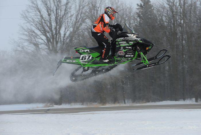 Defending champ Ryan Simons, Team Arctic Cat. Photo: ArcticInsider.com