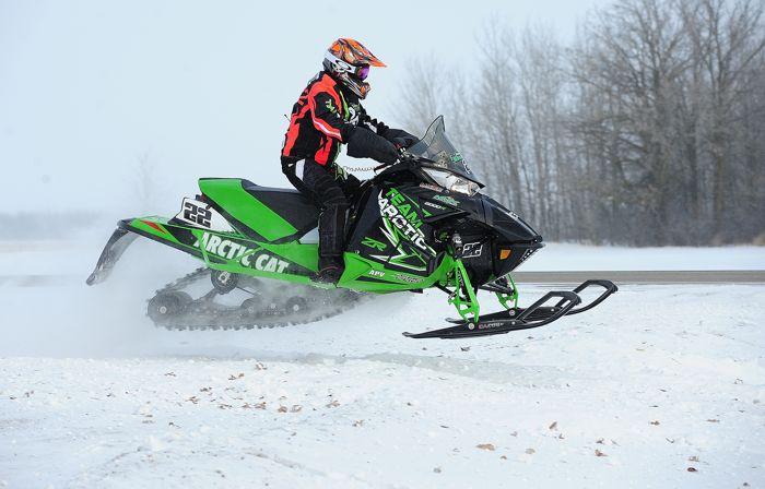 Team Arctic Cat's Jolene Bute wins yet another I-500. Photo: ArcticInsider.com