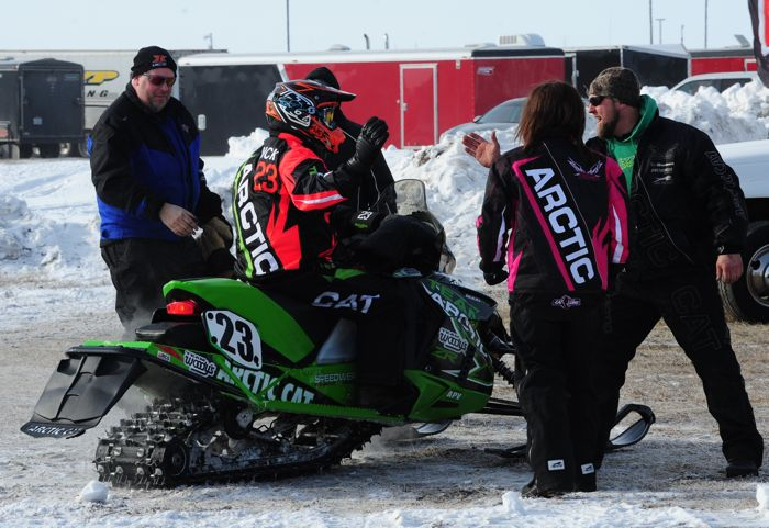 2014 USXC I-500 winner Brian Dick of Team Arctic Cat. Photo: ArcticInsider.com