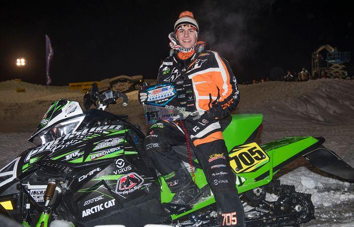 CBR/Arctic Cat Sport racer Tyler Adams
