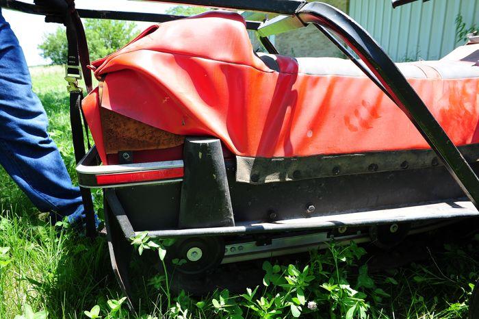 Prototype Scorpion Sierra snowmobile for 1982. Photo by ArcticInsider.com