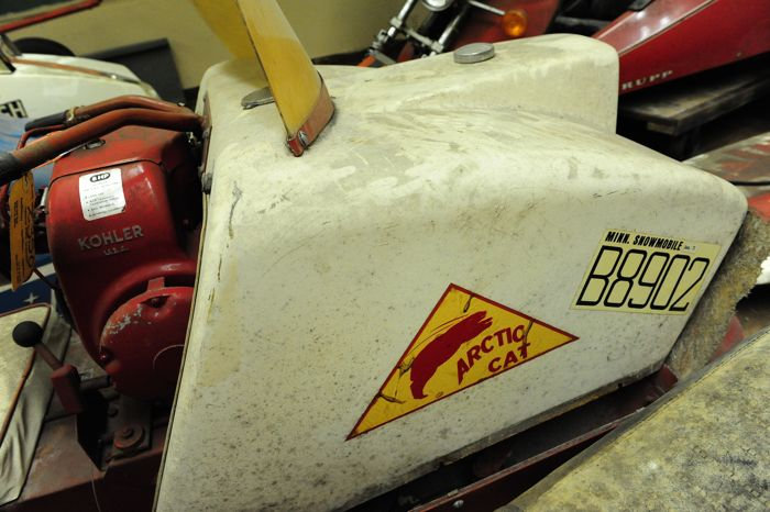 Vintage snowmobile road trip: Arctic Cat stuff with CPC. Photo by ArcticInsider.com