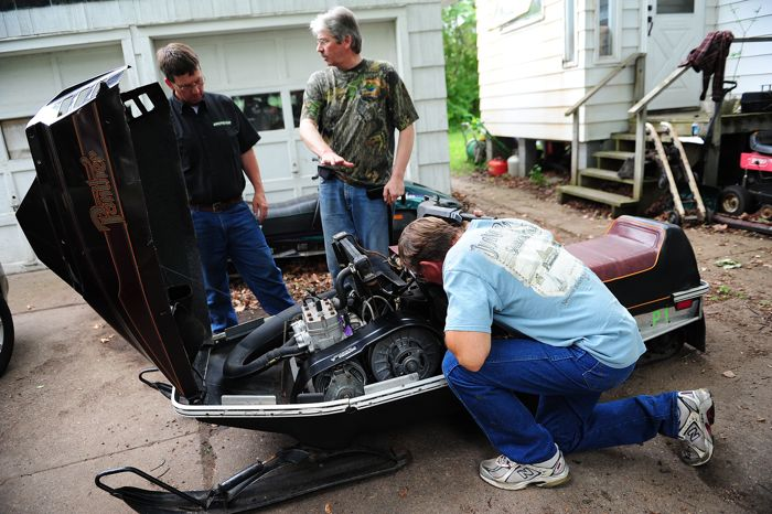 Tom Rowland buys another 1982 prototype Arctic Cat. By arcticinsider.com