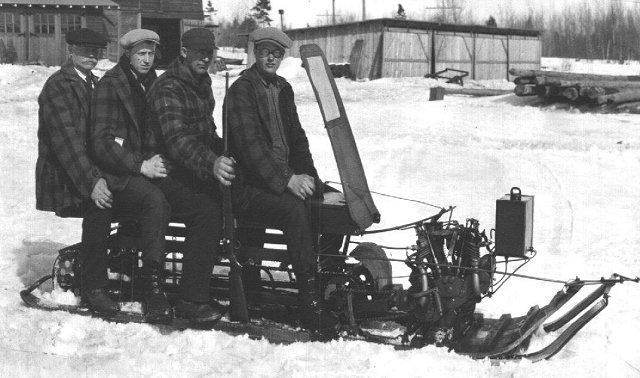 TGIF: the plaid hunter's club of vintage snowmobilers