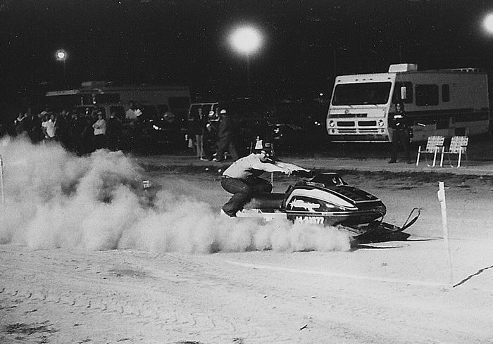 TGIF: Eat my dust and suck my snowmobile's smoke.