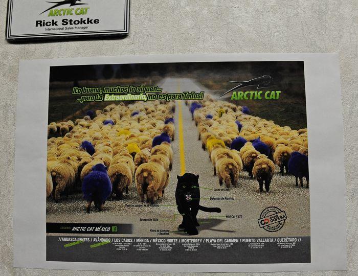 At Arctic Cat in Sept. 2014. Photo by ArcticInsider.com