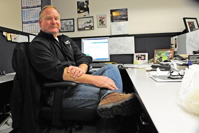 Arctic Cat snowmobile engineer, Jeff Olson. Photo by ArcticInsider.com