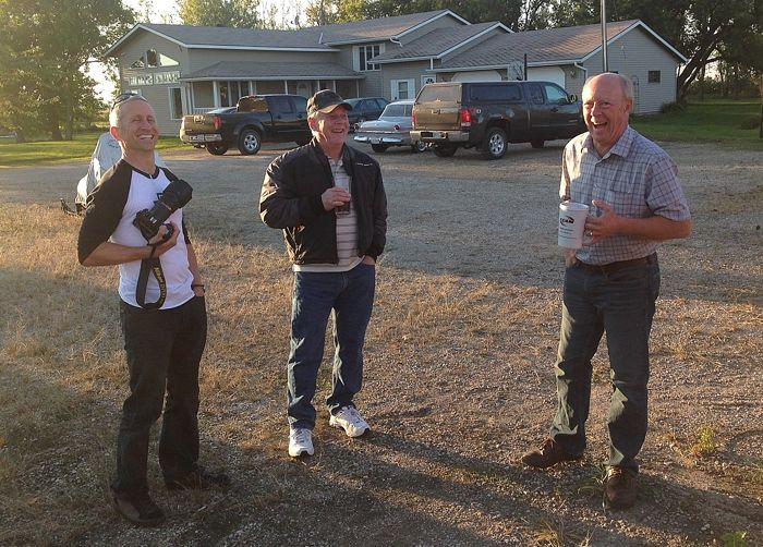 "John Sandberg, Larry Coltom and Greg Spaulding. Photo by Kale ""Brian B."" Wainer"