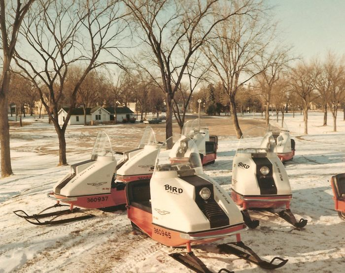 TGIF: Hell's Snowmobilers terrorize local Parks