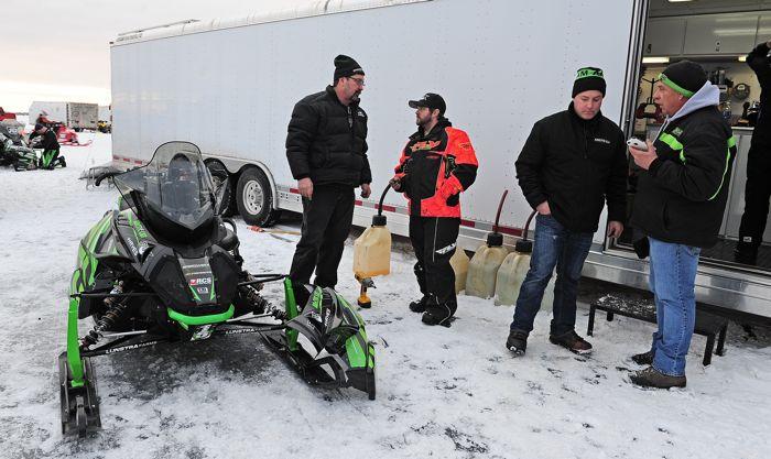 Team Arctic engineers: Steve Houle, Blake Schoh, Brian Dick & Al Shimpa