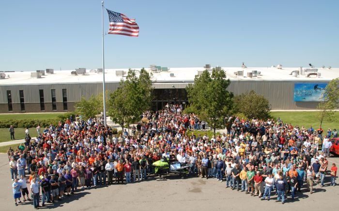 Arctic Cat manufacturing in Thief River Falls, MN. Photo by ArcticInsider.com