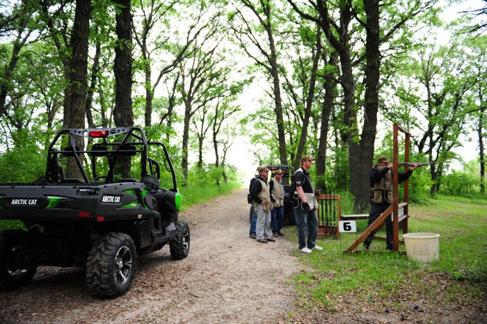 Sporting Clays with Matt Hughes and Arctic Cat. Photo by ArcticInsider.com