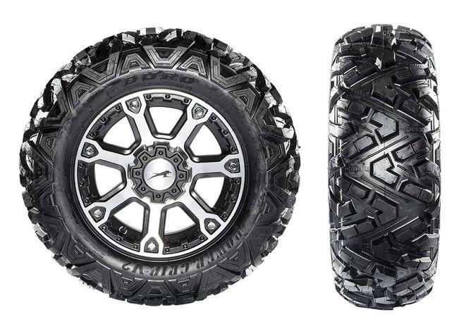 Duro PowerGrip tires on 2016 Arctic Cat Wildcat X models. By ArcticInsider.com
