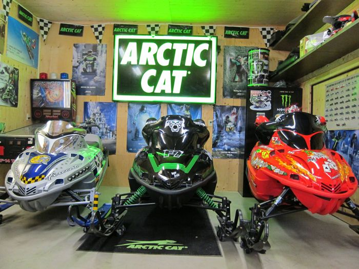 The Martens Family of Arctic Cat riders.
