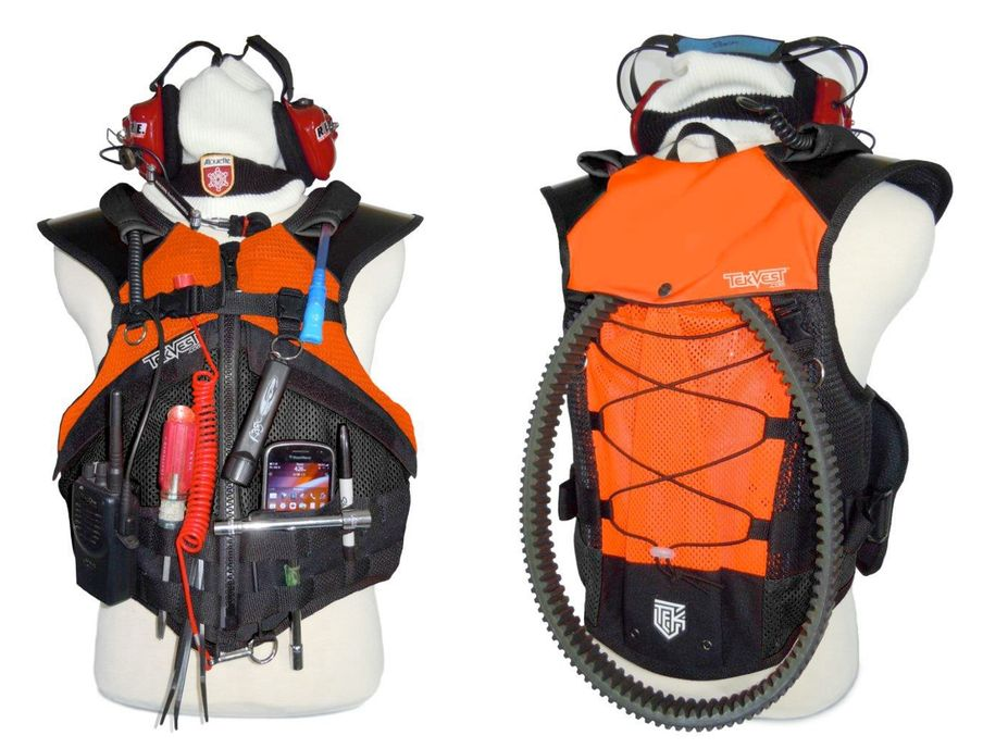 Tekvest RPM vest for mechanics.