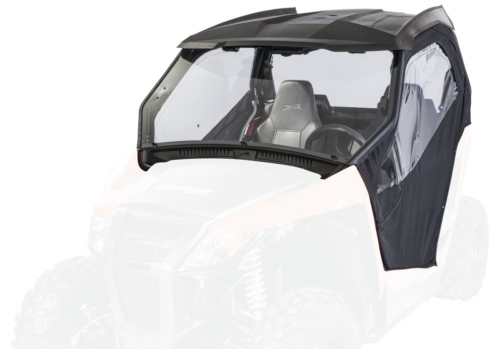 Arctic Cat Hard Cab with Soft Doors Kit for Wildcats.