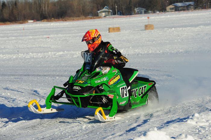 Team Arctic Cat's Paul Brown. Photo ArcticInsider.com
