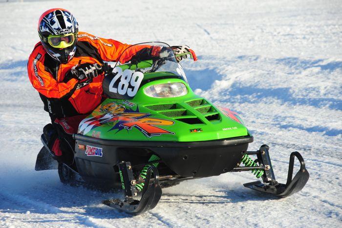 Team Arctic Cat's Karl Valtinson. Photo ArcticInsider.com