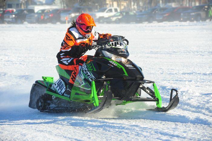 Lydia Sobek is secretly a Team Arctic racer. Photo ArcticInsider.com