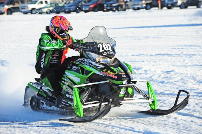 Team Arctic Cat's Hunter Houle. Photo ArcticInsider.com