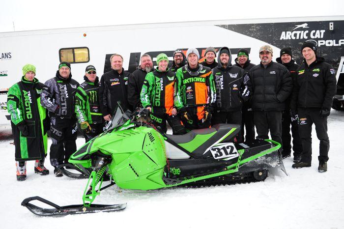 Team Arctic and Christian Bros. Racing win the Enduro class. Photo ArcticInsider.com
