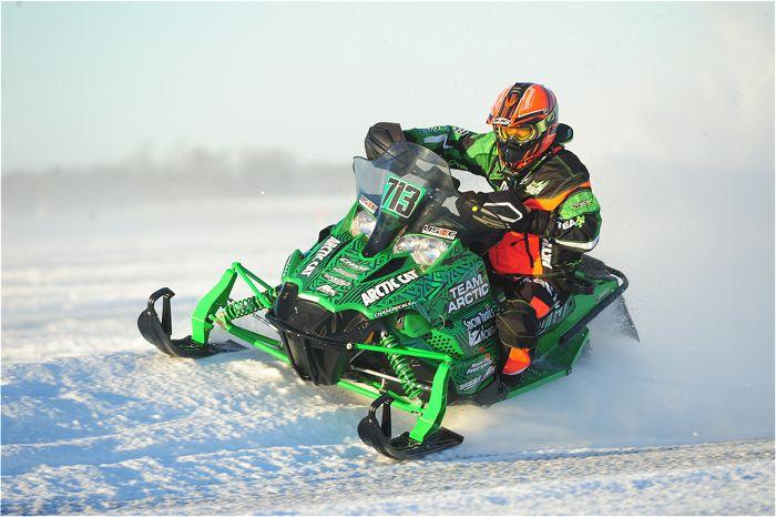 Team Arctic Cat's Ryan Weidemann. Photo ArcticInsider.com
