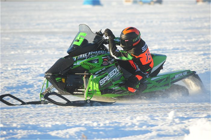 Team Arctic Cat's Wes Selby. Photo by ArcticInsider.com