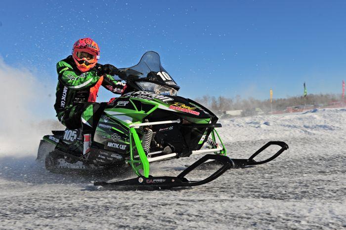 Team Arctic Cat's Ryan Trout. Photo ArcticInsider.com