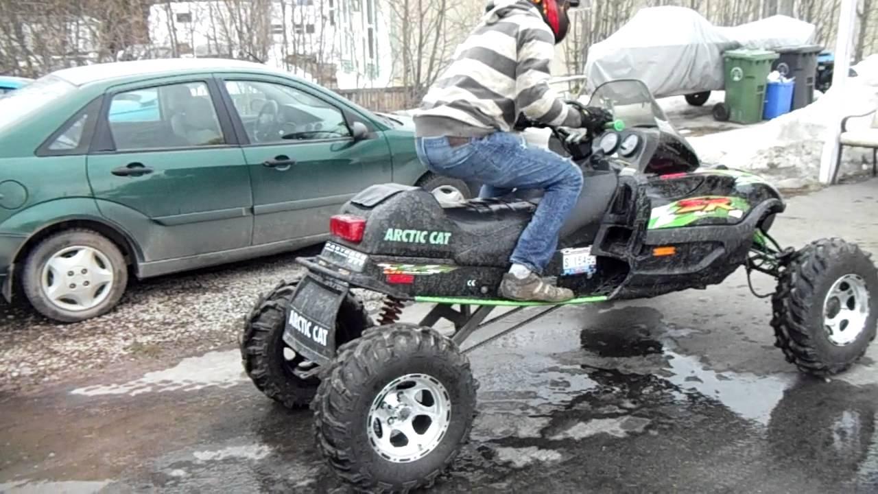 The sno-mo-wheeler