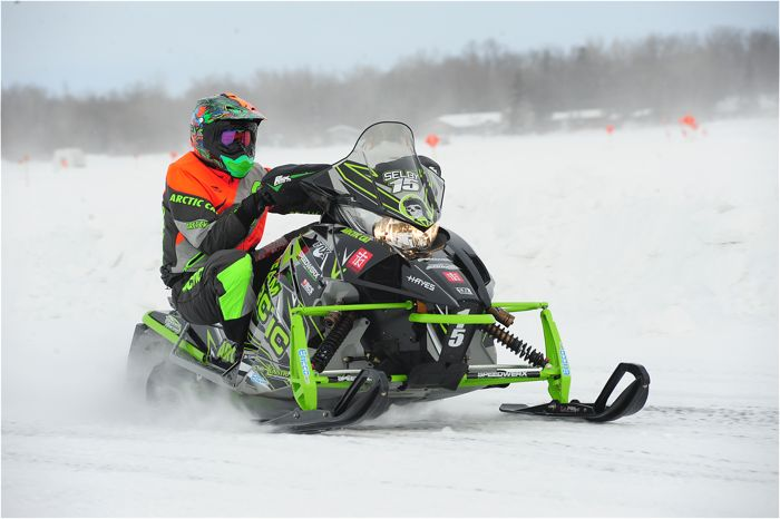 Team Arctic's Wes Selby. Photo by ArcticInsider.com