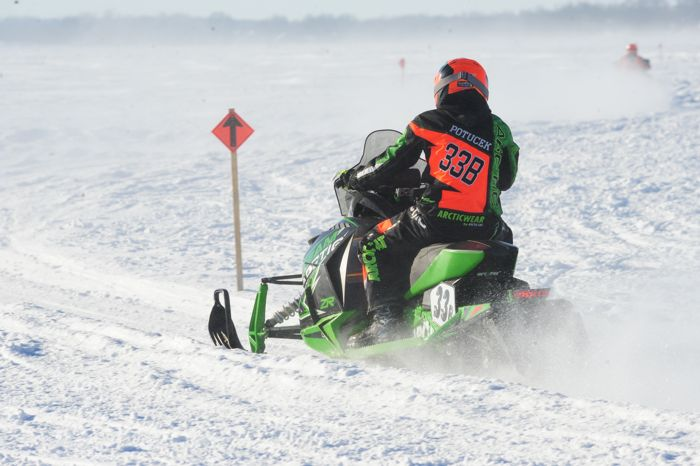 Team Arctic's Blaise Potucek. Photo by ArcticInsider.com