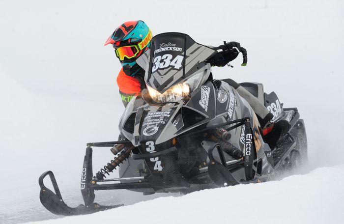 Team Arctic's Dalton Fredrickson. Photo by ArcticInsider.com