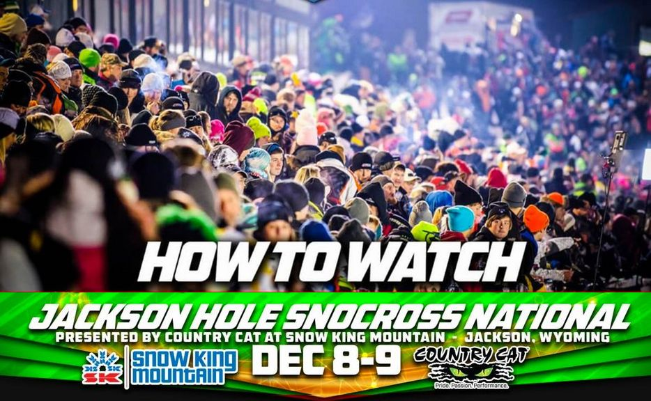 Click Here to watch ISOC Snocross Live (and see Team Arctic kick some butt)