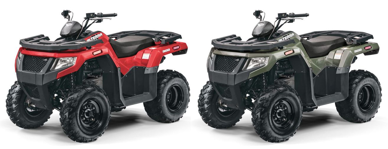 2018 Alterra 300 from Textron Off Road.