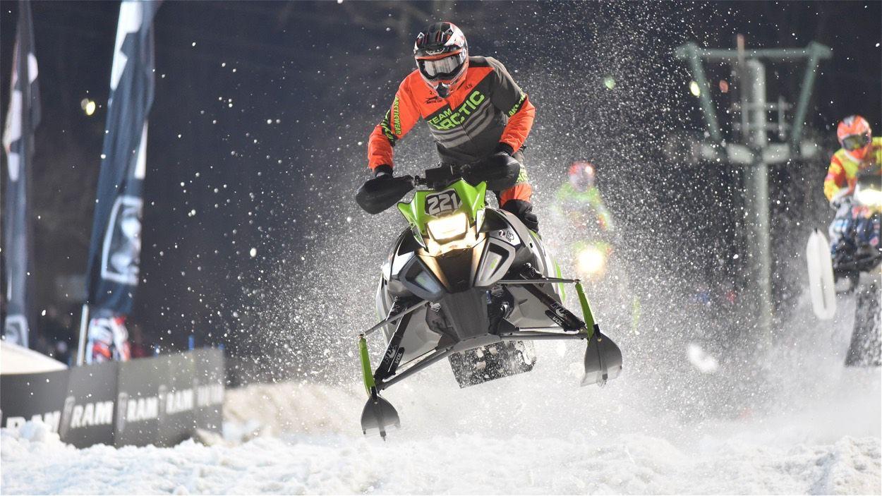 Dan Benham, 2018 ISOC Pro Lite Champion. Photo by ArcticInsider.com