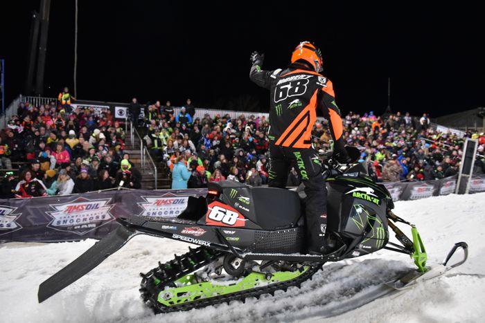 Tucker Hibbert, 2018 ISOC Pro Champion. Photo by ArcticInsider.com