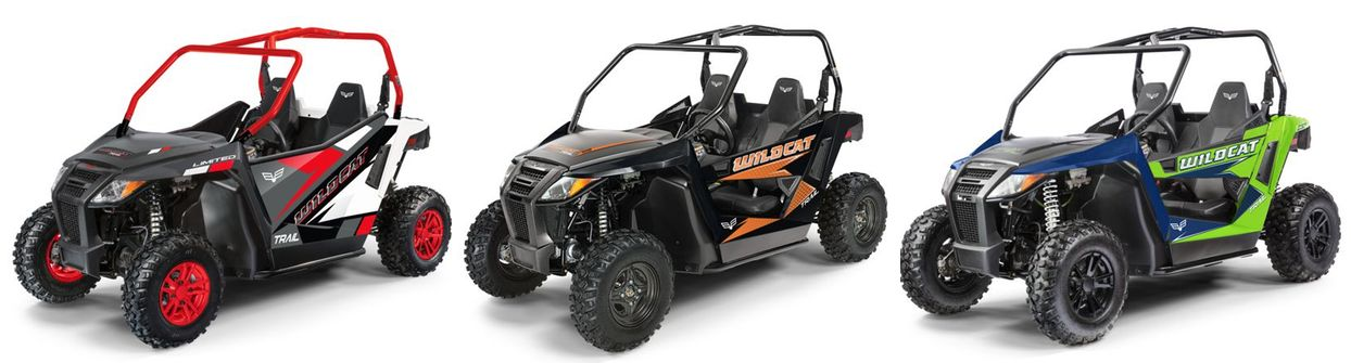 2019 Wildcat Trail models from Textron Off Road