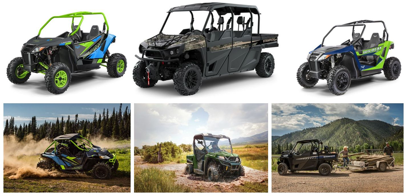 2019 Wave 1 UTV / Side-by-Side models from Textron Off Road