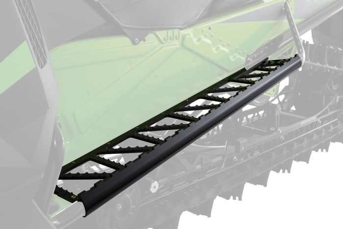Black Cats Running Boards and Rear Bumper from Arctic Cat