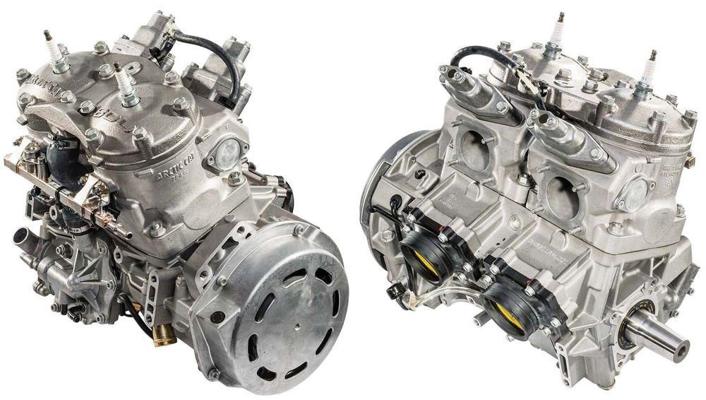 Arctic Cat 8000 C-TEC2 engine